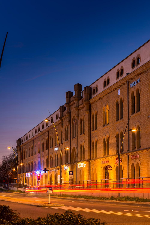 Boulevard de Trèves - Vue de nuit